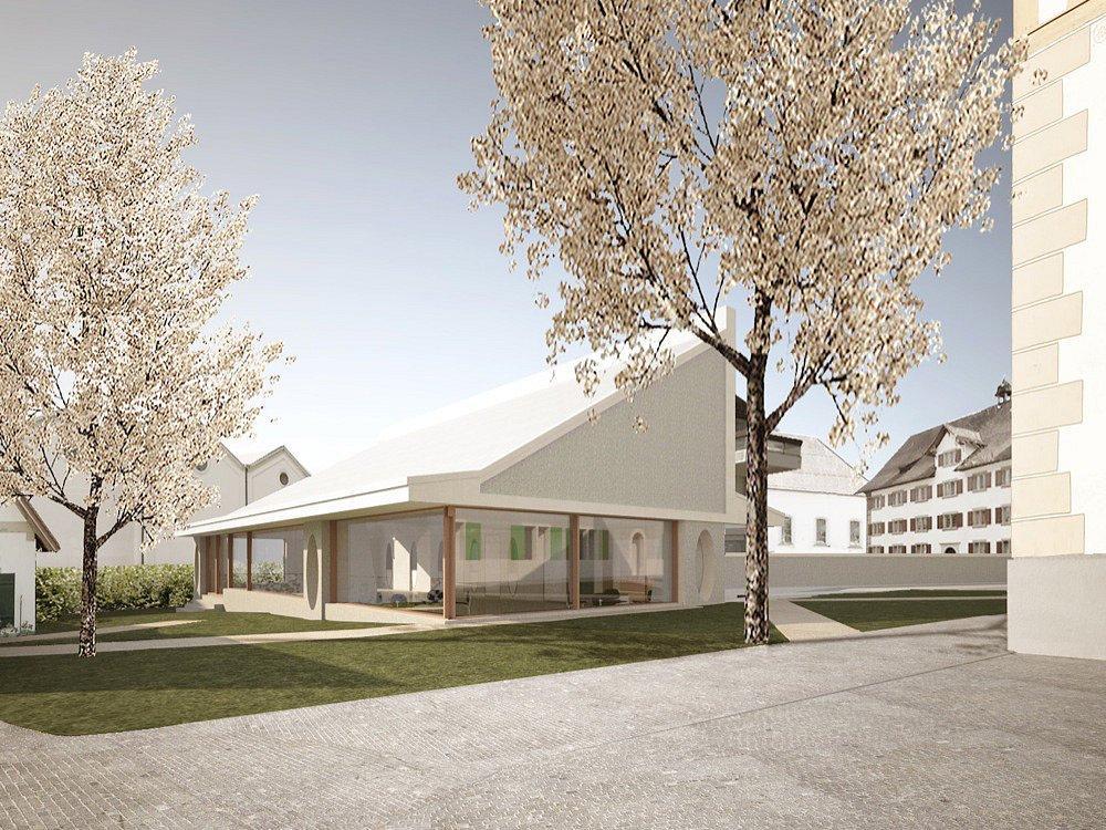 Pfarrhaus und Kirchgemeindesaal, Rüti ZH