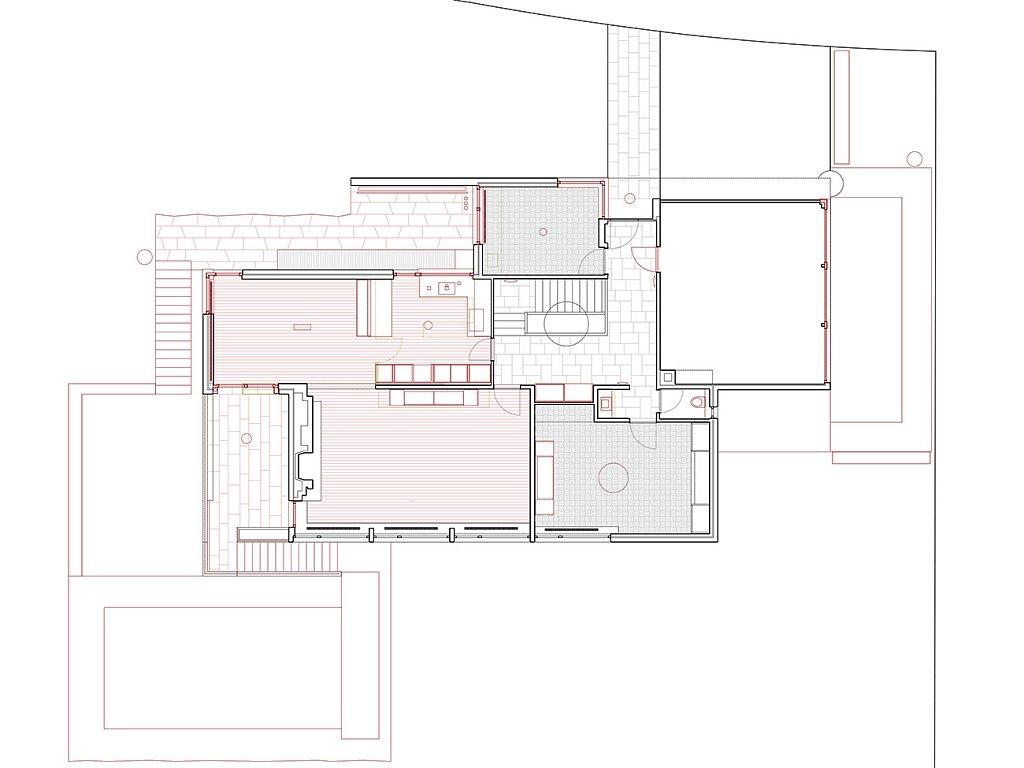 Grundriss Wohngeschoss