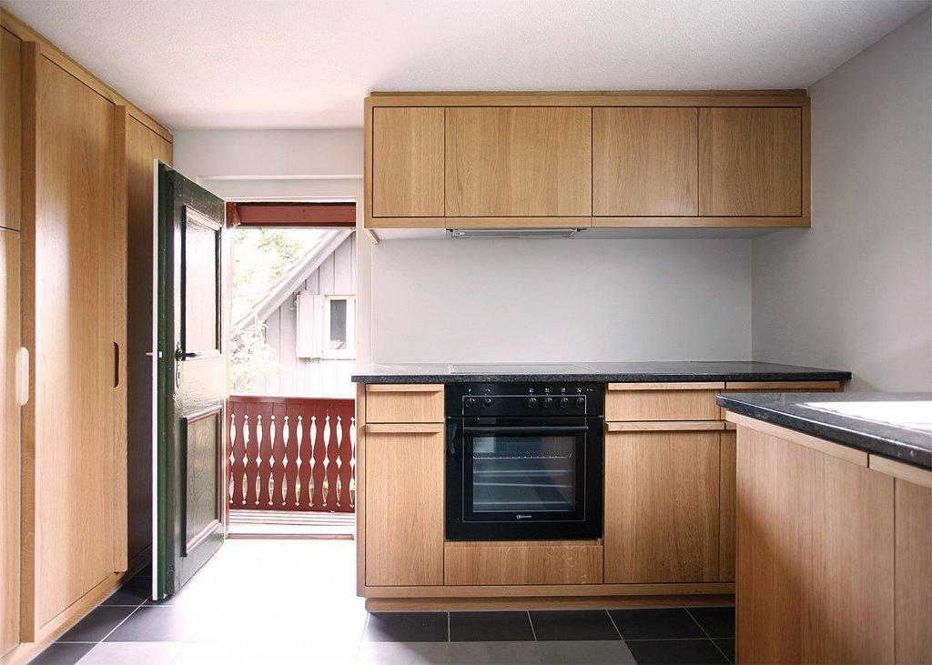 Küche aus drei Elementen