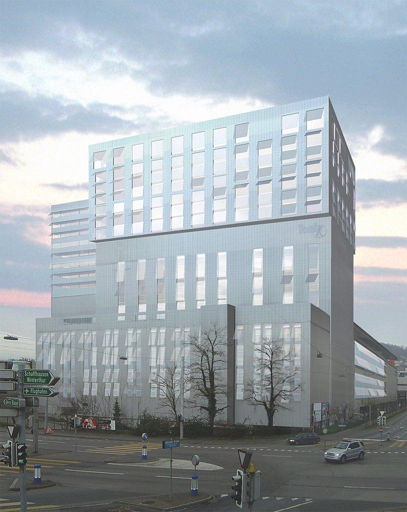Aussenbild Toni-Areal (Hubeli Herczog Architekten)