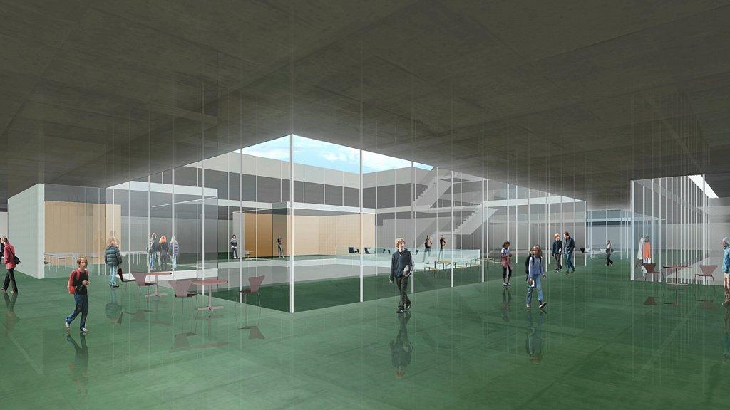 Innenbild Toni Areal (Hubeli Herzog Architekten)r