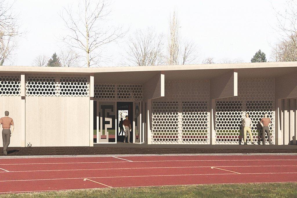 Sanierung & Erweiterung Sporthalle und Garderobenneubau Sportanlage Tellenfeld, Amriswil