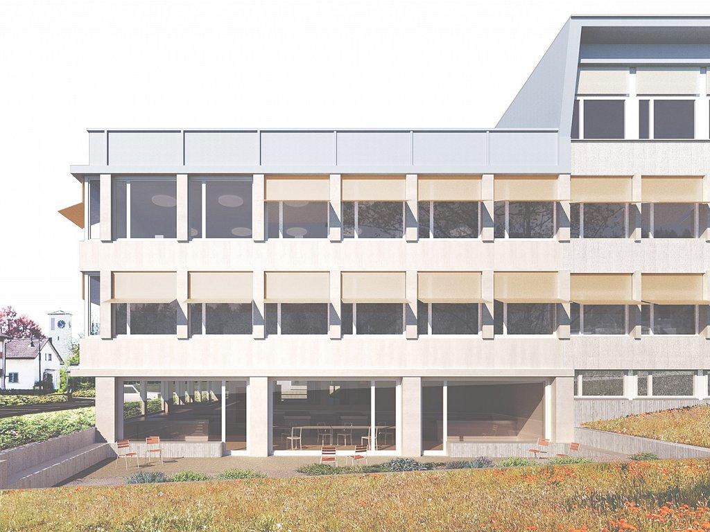 Erweiterung & Sanierung Sekundarschule Bächelacker, Eschlikon TG
